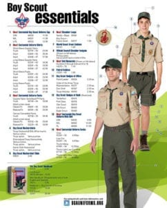 Benefits Of Wearing A Complete Uniform - Boy Scouts