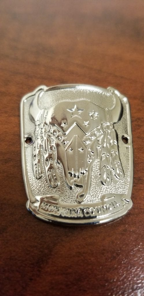 Mt Council Silver Buffalo Hiking Shield Boy Scouts