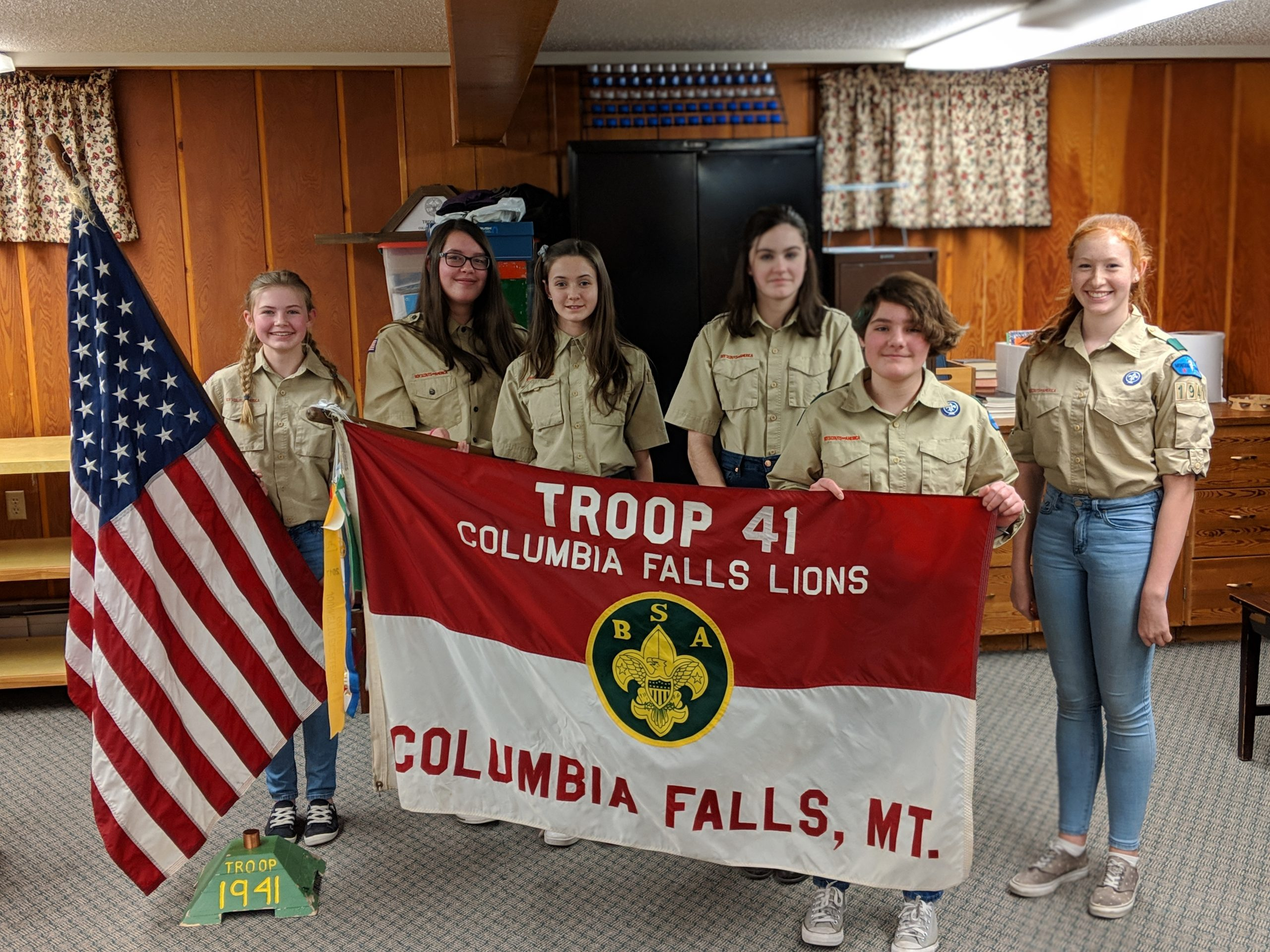 Troop 41 Anniversary Month Contest BSA