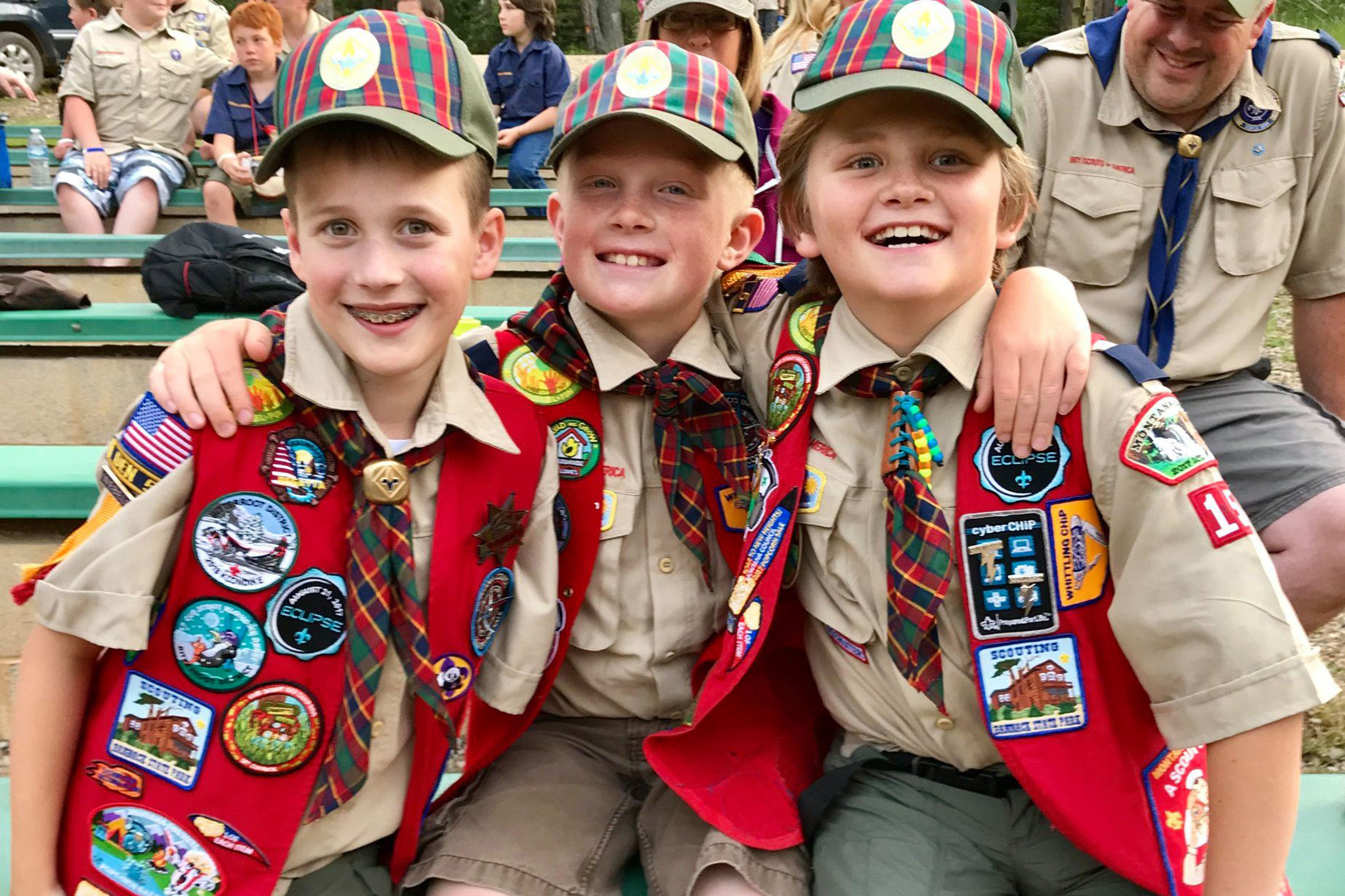 Photo contest, Grand Prize Winner: Webelos camp at K-M Scout Ranch, Montana Council BSA Ollie F., Webelos Scout, Pack 4915, Florence.